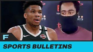 """James Harden REFUSED To Answer Any Questions About Giannis Antetokounmpo: """"Next Question"""""""