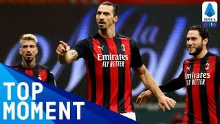 Ibrahimovic scores 500th career goal in Milan win | Milan 4-0 Crotone | Top Moment | Serie A TIM