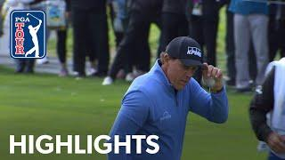 Phil Mickelson has back-to-back hole-outs at AT&T Pebble Beach 2020