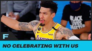 """Danny Green Says Fans Trashing Him On Social Shouldn't Come To Lakers Parade: """"You're Not Real Fans"""""""