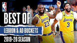 LeBron And AD's Best Buckets From The 2019-20 Season!