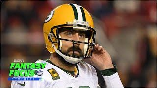 Is Aaron Rodgers a top 10 fantasy QB | Fantasy Focus Live