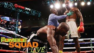 Chad Johnson Reacts To Getting DROPPED In Fight Against Brian Maxwell