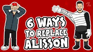 6 ways Liverpool can REPLACE Alisson!  OneFootball x 442oons