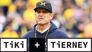 Jim Harbaugh Wants College Players To Declare For The NFL Draft Any Time   Tiki + Tierney