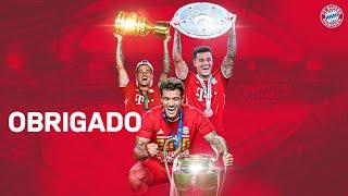 Obrigado! Best of Philippe Coutinho at FC Bayern