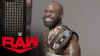 Apollo Crews poses for first championship photoshoot: Raw Exclusive, May 25, 2020