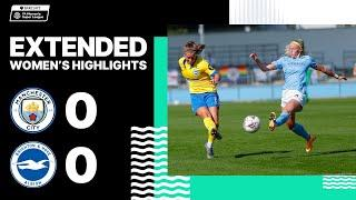 Extended WSL Highlights: Man City 0 Albion 0