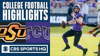 #15 Oklahoma state vs TCU Highlights: Duggan paces Horned Frogs in win over OSU | CBS Sports HQ