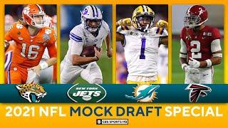 NFL Mock Draft: Top 10 Selections, 3 QBs taken, Dolphins get Playmaker | CBS Sports HQ