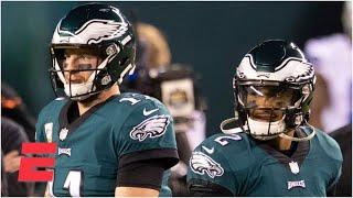 When will it be time to bench Carson Wentz for Jalen Hurts? | The Max Kellerman Show