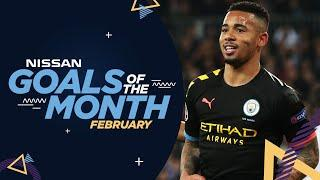 FEBRUARY GOALS OF THE MONTH | DE BRUYNE, JESUS, RODRI AND MORE...