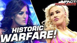 Tessa Blanchard & Taya Valkyrie Clash in HISTORIC Main Event! | IMPACT! Highlights Mar 3, 2020