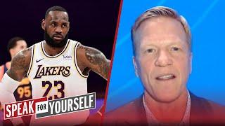 I'm worried Father Time may be tapping LeBron on the shoulder — Bucher | NBA | SPEAK FOR YOURSELF