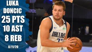 Luka Doncic nearly posts triple-double for Mavericks vs. Blazers | 2019-20 NBA Highlights
