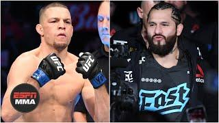 UFC working on Jorge Masvidal-Nate Diaz rematch, Usman vs. Burns title fight | ESPN MMA
