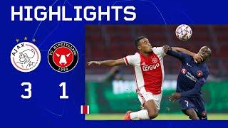 Short Highlights | Ajax - FC Midtjylland | UEFA Champions League