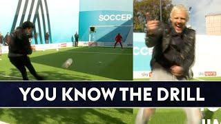 Can Jimmy beat Tom in the Huddlestone inspired drill?  | You Know The Drill Live!