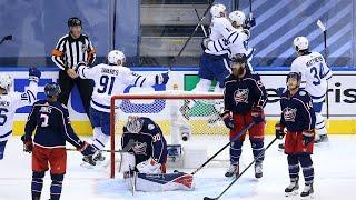 Toronto scores three goals late in Game 4