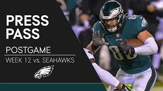 Eagles Players React to Loss to Seahawks | Eagles Press Pass