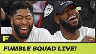LeBron James, AD React To Not Having To Play Clippers In Western Conference Finals | Fumble Live!