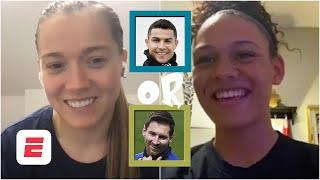 Pulisic or Reyna? Ronaldo or Messi? Fran Kirby and Trinity Rodman play You Have To Answer  ESPN FC
