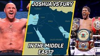 BEN DAVISON EXPLAINS HOW ANTHONY JOSHUA VS TYSON FURY CAN TAKE PLACE IN THE MIDDLE EAST!