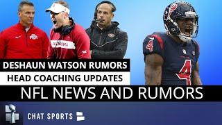 NFL Rumors On Deshaun Watson + Latest On NFL Head Coach Openings Ft. Urban Meyer & Lincoln Riley