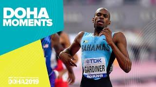 Gold for Gardiner in the 400m | World Athletics Championships 2019 | Doha Moments