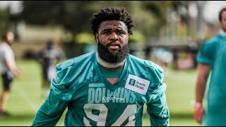 Dolphins DL Christian Wilkins Meets With the Media   August 5, 2020