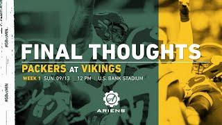 Packers At Vikings | Final Thoughts