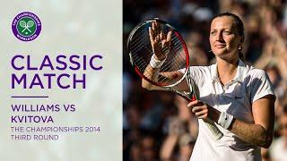 Petra Kvitova vs Venus Williams | Wimbledon 2014 third round | Full Match