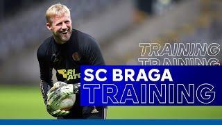 Foxes Train At Estádio Municipal de Braga | UEL Training | SC Braga vs. Leicester City