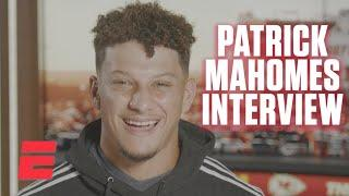 Patrick Mahomes previews Chiefs' MNF game vs. Lamar Jackson and the Ravens | NFL on ESPN