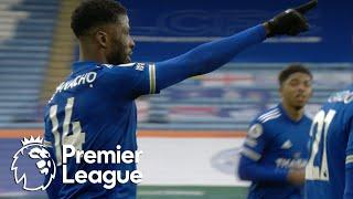 Kelechi Iheanacho eases Leicester City in front of Sheffield United   Premier League   NBC Sports