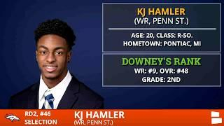 KJ Hamler Of Penn State Selected By Denver Broncos With Pick #46 In 2nd Round of 2020 NFL Draft