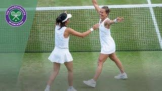 Barbora Strycova/Su-Wei Hsieh vs Gabriela Dabrowski/Yifan Xu Wimbledon 2019 final highlights