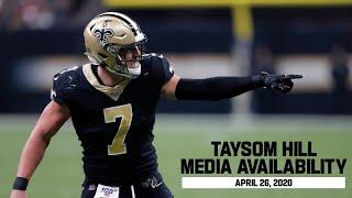 Taysom Hill Media Availability | Saints Free Agency | April 26, 2020