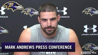 Mark Andrews Talks About His Connection With Lamar Jackson  | Baltimore Ravens
