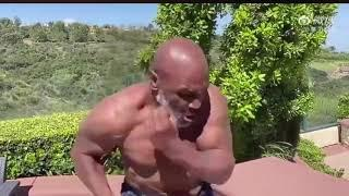 (WOW) MIKE TYSON SHOWS OFF INCREDIBLE PHYSIQUE AND MAD HAND SPEED AT 53 YEARS OLD!