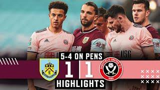 Burnley 1-1 Sheffield United   Penalty shoot-out loss for Blades   Carabao Cup Highlights