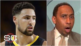 It's nightmarish! - Stephen A. reacts to Klay Thompson's undisclosed leg injury | SportsCenter