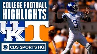 Kentucky vs #14 Tennessee Highlights: UK wins at Tennessee for first time since 1984 | CBS Sports HQ