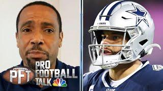 Rodney Harrison: Dak Prescott is NFL's most disrespected player | Pro Football Talk | NBC Sports