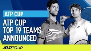 19 Teams Announced For ATP Cup | ATP CUP | ATP