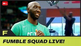 Tacko Fall Sends A WARNING To NBA After Spotted Shooting 3s In Practice Gym! | Fumble Live