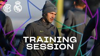 INTER vs REAL MADRID | PRE-MATCH TRAINING SESSION | 2020-21 UEFA CHAMPIONS LEAGUE