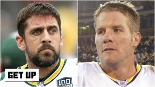 Do you agree with Brett Favre's prediction about Aaron Rodgers leaving the Packers? | Get Up