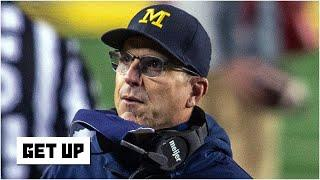 Evaluating Jim Harbaugh's future at Michigan after a 49-11 blowout loss vs. Wisconsin | Get Up