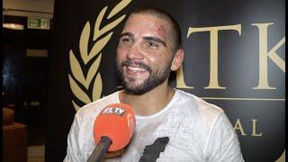 'ME & BOLOTNIKS ARE IN THE FINAL, LETS GO!' - SERGE MICHEL REACTS TO STOPPAGE WIN OVER LIAM CONROY
